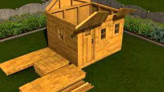 Outdoor Living Today Shed Assembly