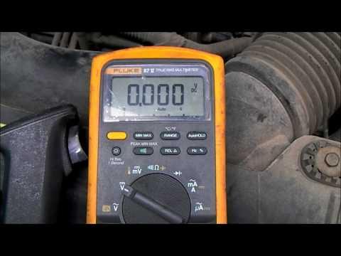 Voltage Drop Testing the Starter