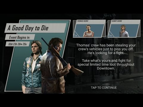 A Good Day to Die Event ( mafia III rivals).