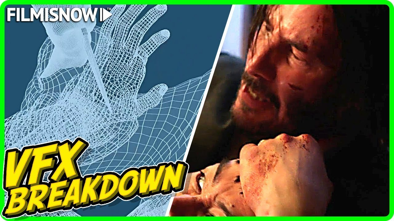 JOHN WICK 3: PARABELLUM | VFX Breakdown by Method Studios (2019)
