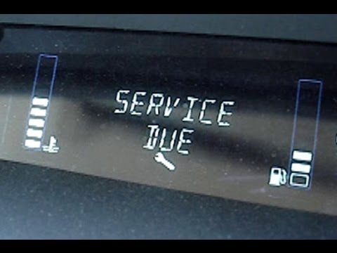 How To Reset Quot Service Due Quot Message In Renault Scenic Ii