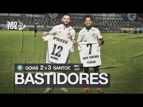 GOIÁS 2 X 3 SANTOS   BASTIDORES   BRASILEIRÃO (04/10/20)