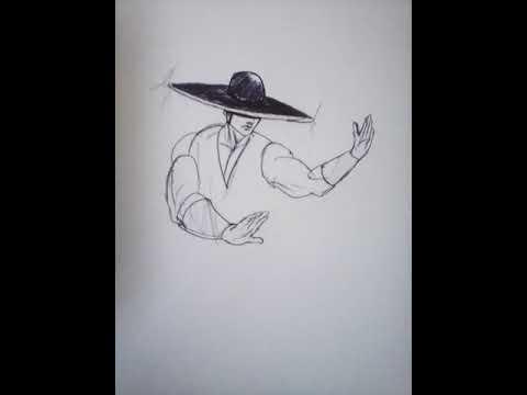 Desenhando Kung Lao Youtube