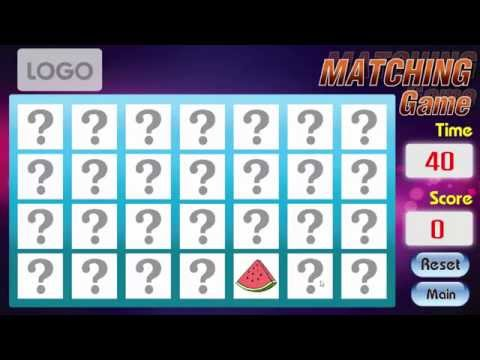 Matching Game จับคู่ภาพ เกมส์ให้เช่า 084-658-2444 K.โจ www.maxmonster.net