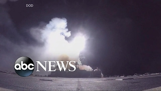The strike on Syria's Shayrat air base