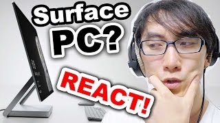 REACT To Microsoft Surface STUDIO!|Dial Accessory|Mobile Graphics Chip?!