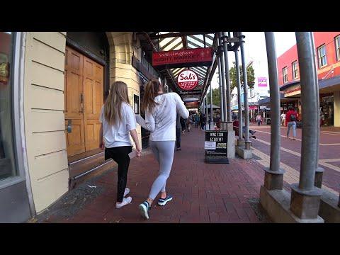 WELLINGTON City STREETS -- New Zealand