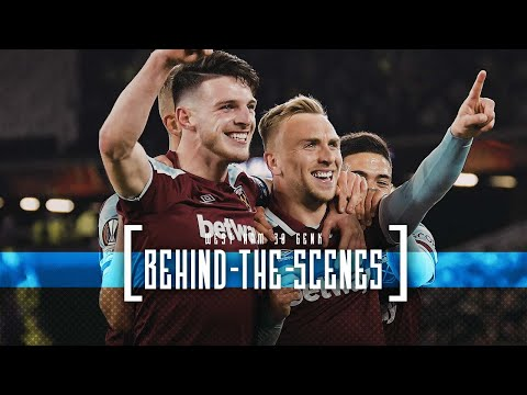 HAMMERS MAKE IT THREE FROM THREE IN EUROPE | BEHIND THE SCENES
