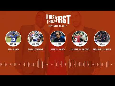 First Things First audio podcast(9.15.17) Cris Carter, Nick Wright, Jenna Wolfe | FIRST THINGS FIRST
