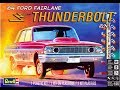 How to Build the 1964 Ford Fairlane Thunderbolt 1:25 Scale Revell Kit #85-4408