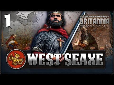 THE LAST KINGDOM RISES! Total War Saga: Thrones of Britannia - West Seaxe Campaign #1