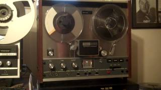 TEAC A-1250 Reel to Reel, Serviced, New Belts, Dis-Assembled, Cleaned, Lubed. ZCUCKOO
