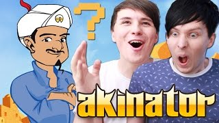 One of DanAndPhilGAMES's most viewed videos: Dan and Phil Play AKINATOR