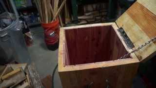 How To Build A Cedar Lined Crate