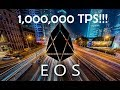 How EOS Can Reach 1,000,000 Transactions Per Second!