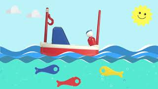 Ambi Toys in Motion - Fishing Boat