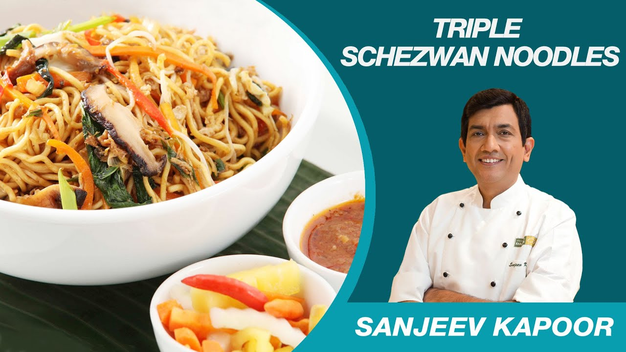Triple schezwan chinese noodles recipe by sanjeev kapoor youtube triple schezwan chinese noodles recipe by sanjeev kapoor forumfinder Image collections