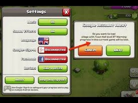 Clash Of Clans - How To Link A Device To Your Computer