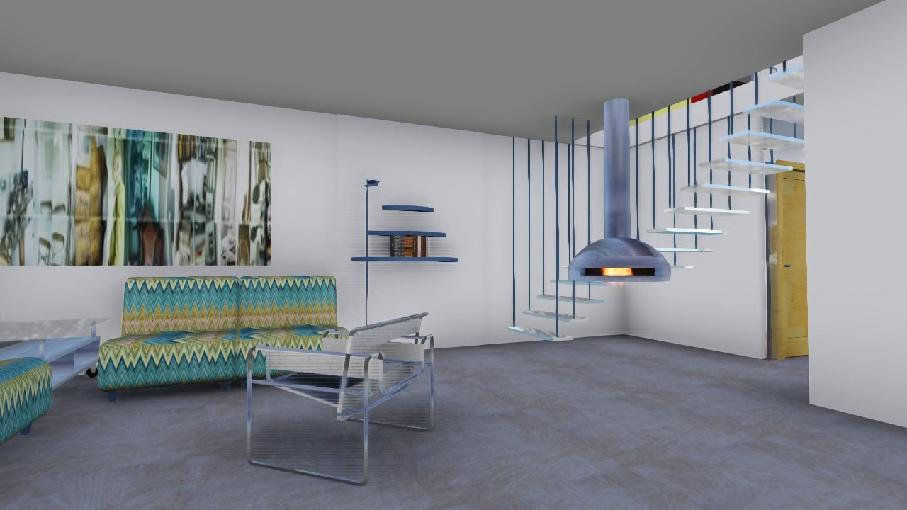 Casa mia interni salone youtube for Interni salone