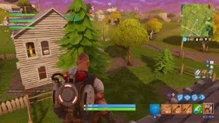 Fortnite New Jet Pack Game Play