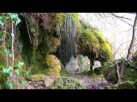 NATURE SOUNDS - Water Running off Stalactites - Relaxing, Sleeping and Meditating