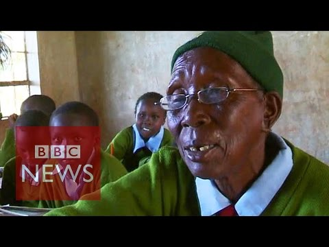 Is this the world's oldest pupil?