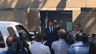 Chris Soules leaves Buchanan County courthouse after September hearing