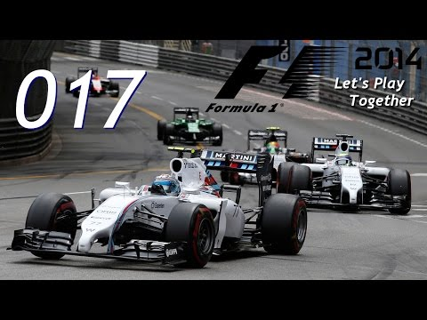 F1 2014 | Co-op | #017 Monaco/Qualifying | Let's Play Together [HD]