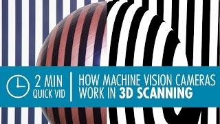 Quick Vid: 3D Scanning using Machine Vision Cameras