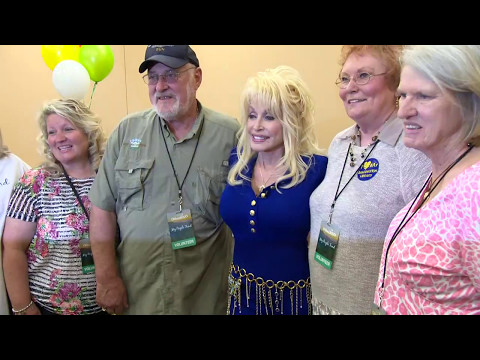 Dolly Thanks My People Fund Volunteers Broll