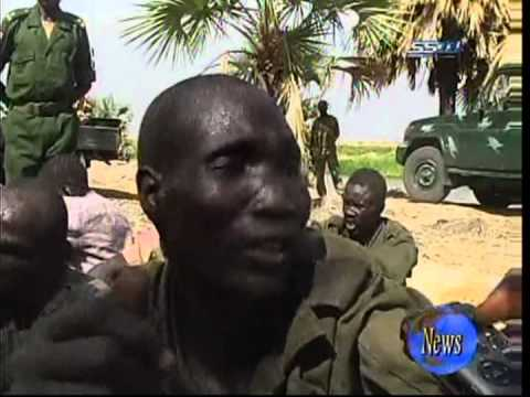 Southern Sudan TV conducted an interview with prisoners from the rebel South Sudan