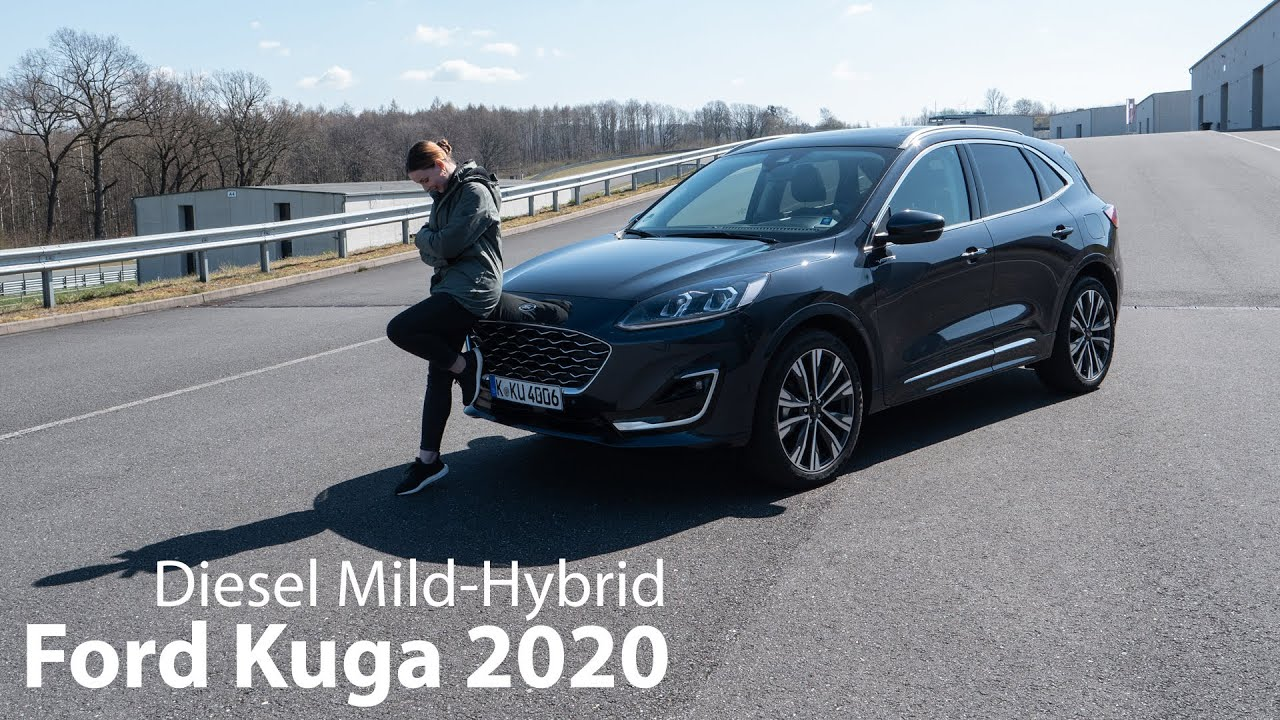 2020 Ford Kuga 2 0l Ecoblue Hybrid Test Die Neue Zarte Seite Des Kompakt Suv Autophorie Youtube