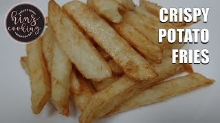 Crispy French Fries Recipe - Deep Fried French Fries at Home - Potato Fries - Hinz Cooking