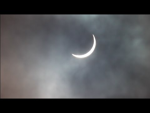 Partial Solar Eclipse! 20/3/2015 Northern Ireland (ORIGINAL VIDEO)