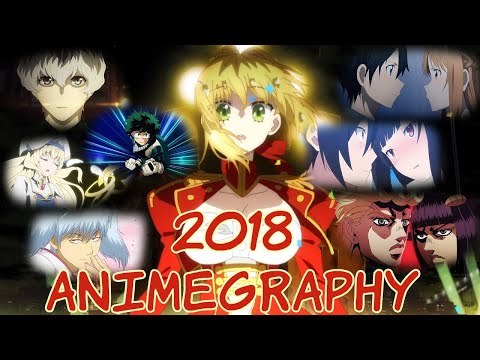 【 Animegraphy 2018 】 【 103 Titles From 2018 】