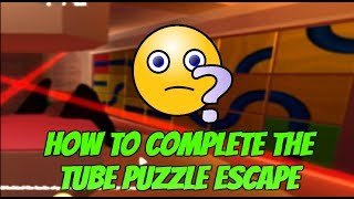Roblox Jailbreak How To Complete The Tube Puzzle In The Museum! How To Escape The Museum Jailbreak!