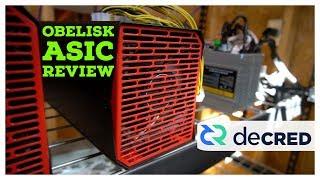 Obelisk DCR1 Review   Decred ASIC Miner   Blake256r14 Mining