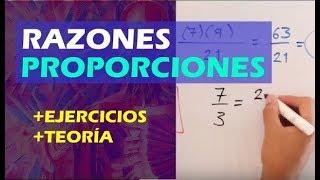 Razones y proporciones ¿ que es una razon y una proporcion ?