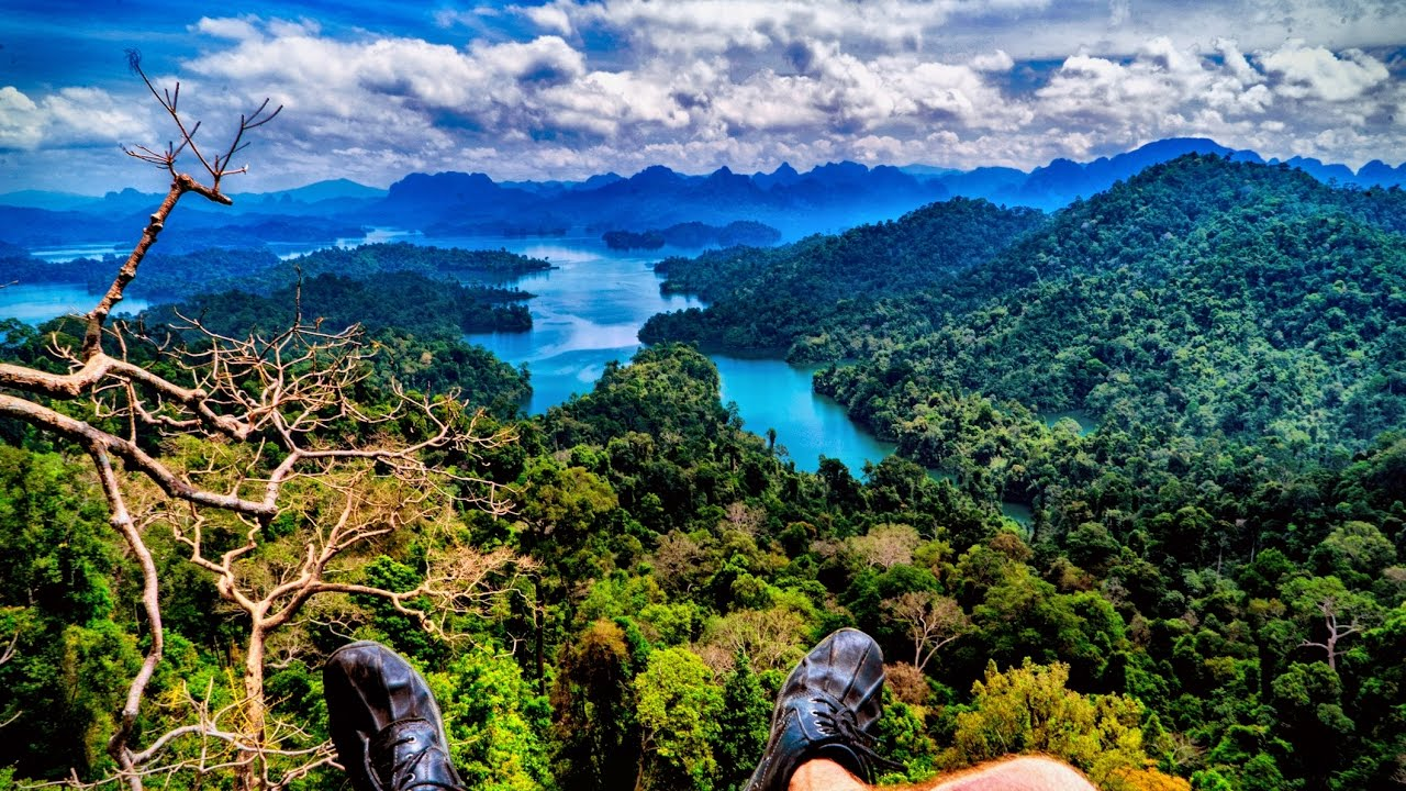 Best Views in Thailand: Khao Sok National Park - YouTube