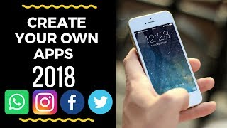 Create your own apps - Social Media Apps - Tech Knowledge Hindi