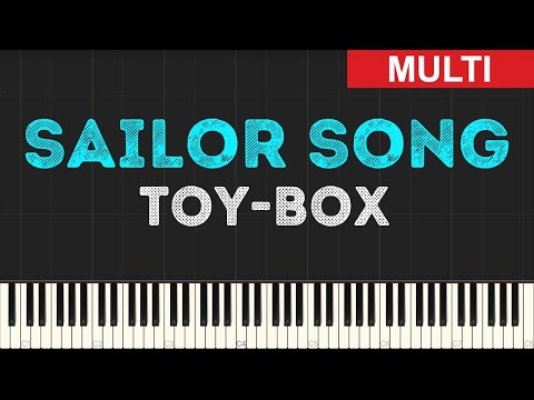 Toy-Box - Sailor Song (Instrumental Tutorial) [Synthesia]