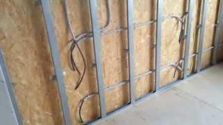 Электромонтаж в Тюмени - коттедж, дер. Парёнкино. Дом из SIP-панелей. Второй этаж готов.