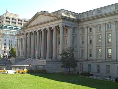 Washington DC - US Treasury Department