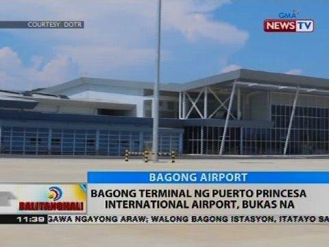Bagong terminal ng Puerto Princesa International Airport, bukas na