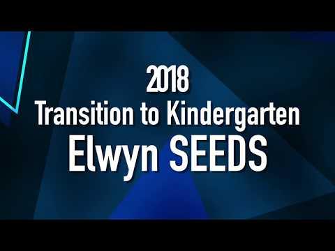 2018 Transition to Kindergarten Elwyn SEEDS