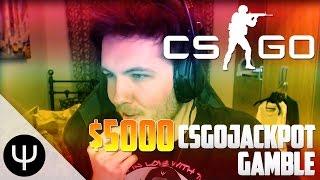 CS:GO — $5000 CSGOJackpot Gamble!