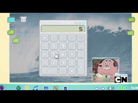 El asombroso mundo de Gumball - Calculator Gameplay - Español España