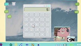 El asombroso mundo de Gumball - Calculator Gameplay - Español España thumbnail