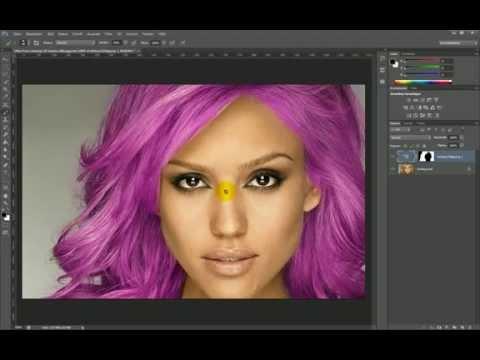 Haare malen in photoshop