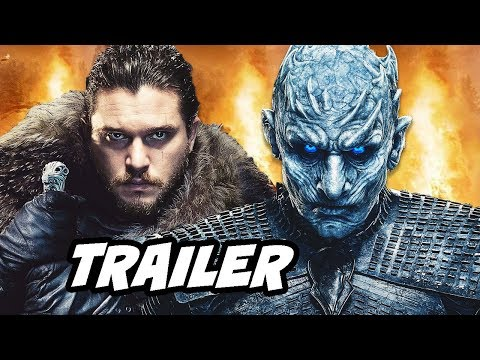 Game Of Thrones Season 8 Trailer - Jon Snow vs White Walkers Easter Eggs Breakdown